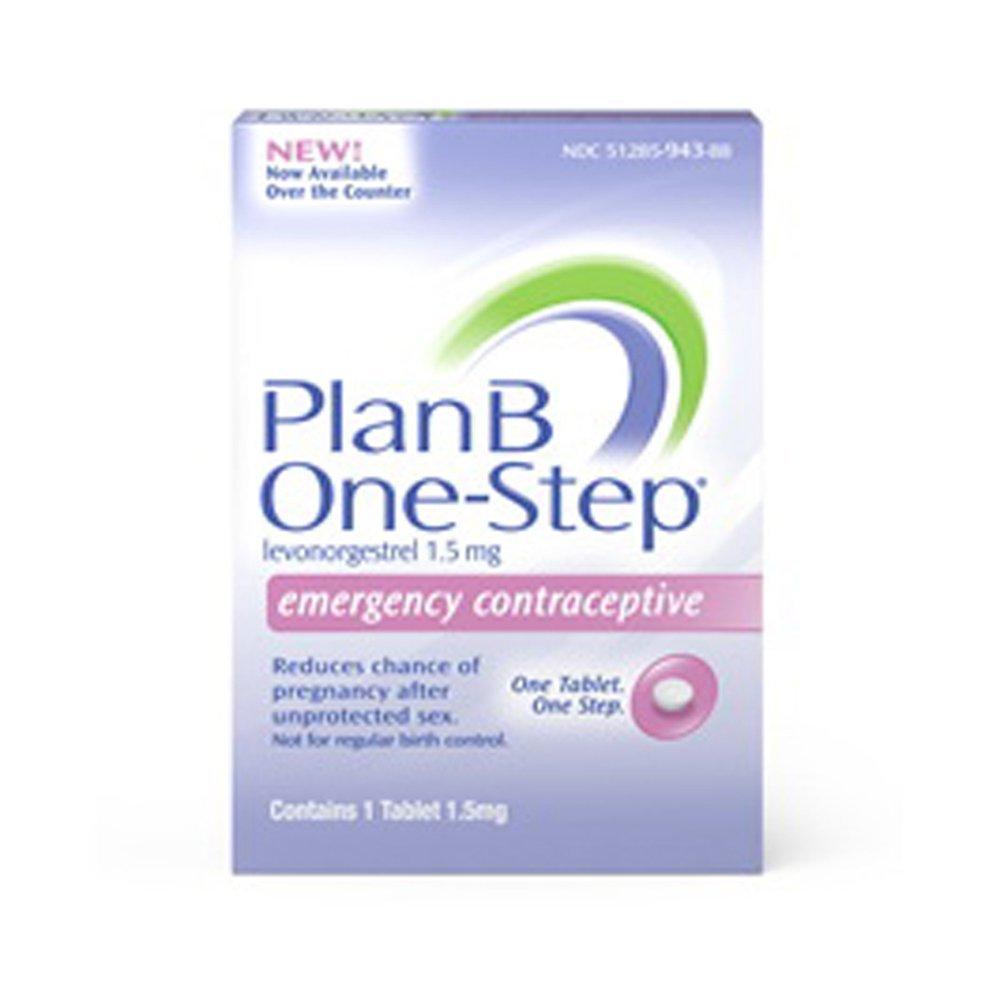 Amazon plan b one step emergency contraceptive 1 tablet15 plan b emergency contraceptive tablet contains 1 tablet 15mg baanklon Gallery