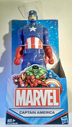 Marvel Universe Avengers 6' (Approximate Size) All Star Captain America Action Figure Australian Release