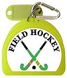 Zumoe Field Hockey Mouth Guard Case - 2 Crossed Sticks