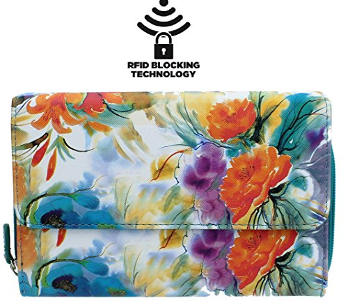 mundi-big-fat-womens-rfid-blocking-wallet-clutch-organizer-with-change-pocket-spring-floral
