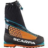 Scarpa Men's Phantom 6000 M Mountaineering Boot, Black/Orange, 47 EU/13 M US