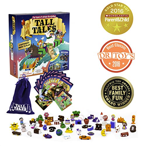 (SCS Direct Tall Tales Story Telling Board Game - The Family Game of Infinite Storytelling - 5 Ways to)