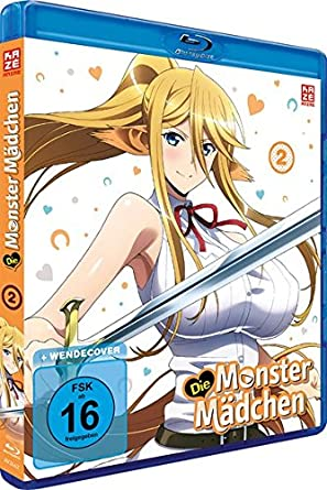 Die Monster Mädchen Vol 2 Blu Ray Amazonde Tatsuya Yoshihara