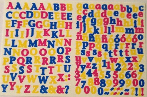 Abc 123 Stickers - Creative Memories ABC/123 Mini Stickers: Bright Mini