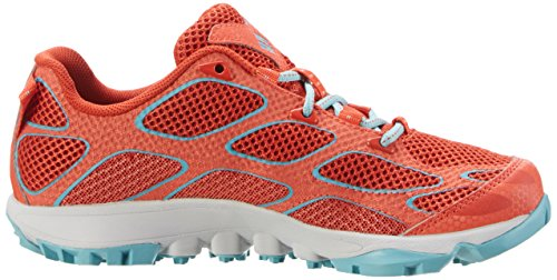 Columbia Women's Conspiracy Iv Multisport Outdoor Shoes Red (Super Sonic, Teal 845)
