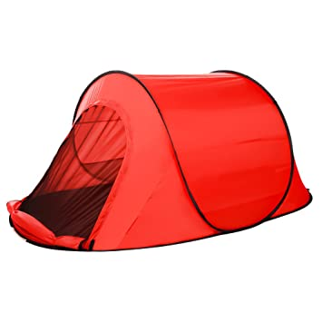 OUTCAMER Instant Large Pop Up Tent Quick Setup C&ing Tent Automatic Waterproof Tent 2 Person Red  sc 1 st  Amazon UK & OUTCAMER Instant Large Pop Up Tent Quick Setup Camping Tent ...