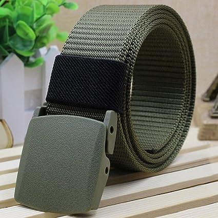 Beteral Tactical Belt Adjustable Solid Nylon Outdoor Waist Belts