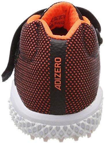 adidas Adizeroavelin, Zapatillas de Atletismo Unisex Adulto Negro (Negbas/Ftwbla/Naranj 000)