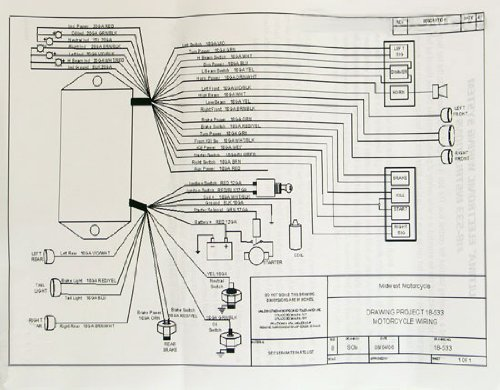 Ultima Motorcycle Wiring Diagram - Wiring Diagram
