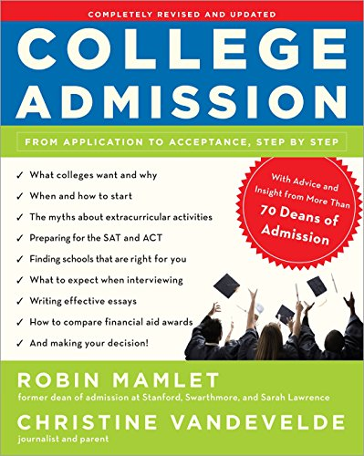 Pdf Test Preparation College Admission: From Application to Acceptance, Step by Step