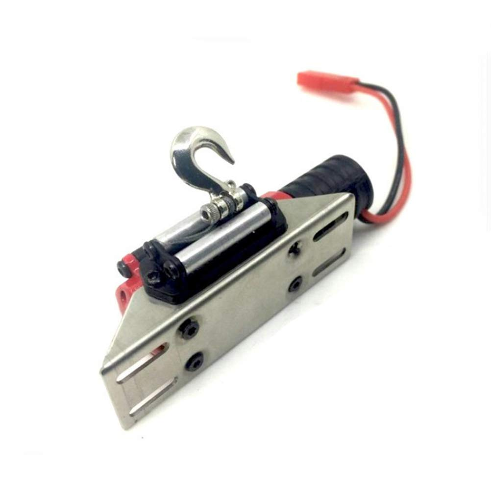 Toyvian RC Winch 1/10 Metal Steel Wired Simulated Winch with Switch for Car Rock Crawler by Toyvian (Image #3)
