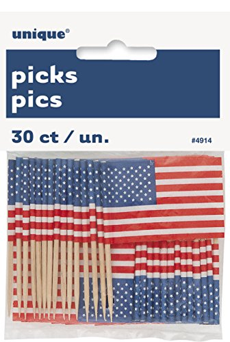 Unique 4914 American Flag Toothpicks product image