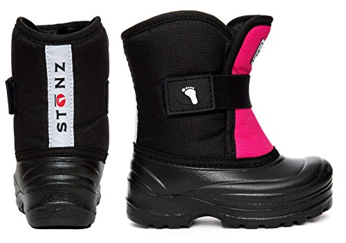Stonz Scout Winter Boots for Cold Weather, Snow, Ice and Winter Sports - Insulated, Super Light & Warm - Pink/Black, 7T by Stonz (Image #3)