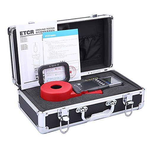 Image of ETCR ETCR2100C+ Digital Clamp Ground Earth Resistance Meter Tester 0.01-1200Ω Clamp Meters