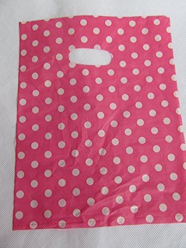 50 + calidad pequeño mtong rosa/blanco divisado bolsas de ...