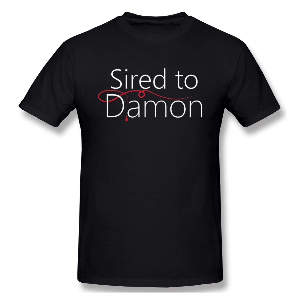 Sired To Damon Classic Black With Short Sleeve Shirts