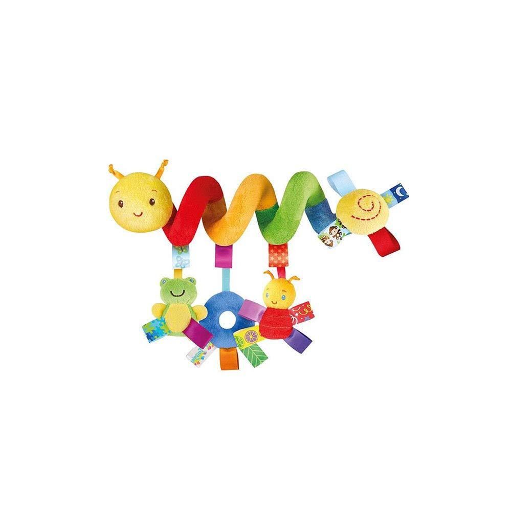 Poussette bébé Hanging Jouet Lit bébé Suspendu Rattle Cartoon Music Crib Toy Fun Musique Hochet en Peluche Animal Pull Cloche sensorielle Jouet pour Enfant en Bas âge Infantile