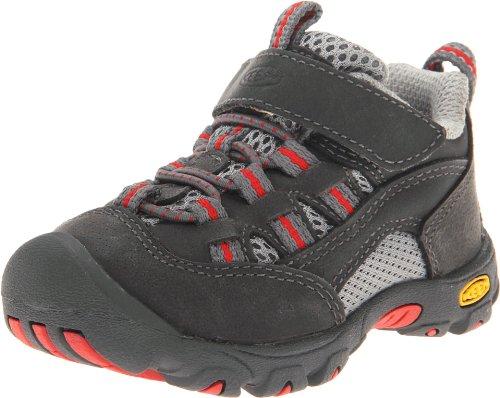 KEEN Alamosa Hiking Shoe (Toddler/Little Kid),Gargoyle/Pompeian Red,5 M US Toddler -