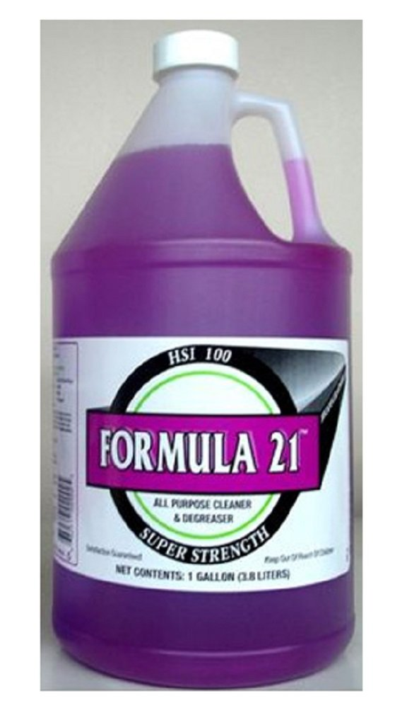 Formula 21 ''Black Jack'' Cleaner / Degreaser (1 Gallon) by Formula 21 Cleaner / Degreaser