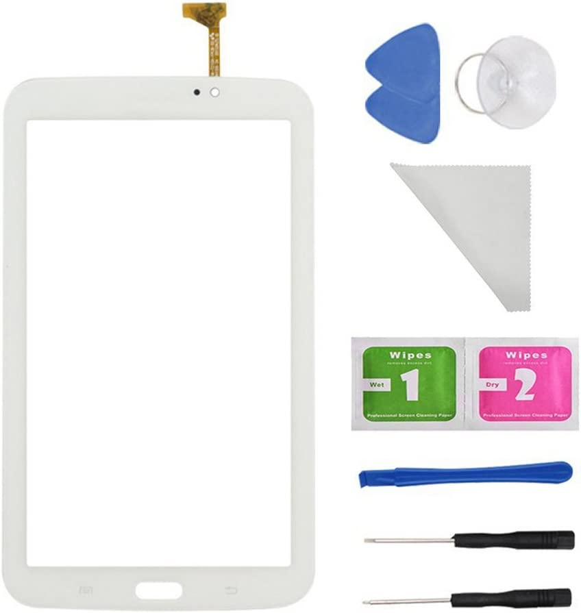 WhiteTouch Digitizer Screen Replacement for Samsung Galaxy Tab 3 7.0 SM-T210 T210R T210L T217S 217A(WIFI Ver.No Speaker Hole) + PreInstalled Adhesive with tools