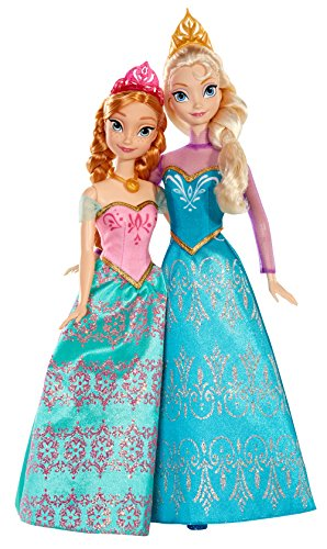 Disney Frozen Royal Sisters Doll (2-Pack) ()