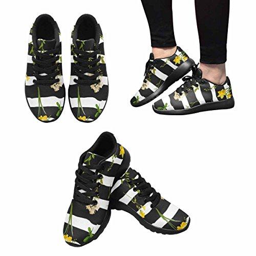 Sneaker Da Jogging Leggera Da Uomo Dinteresse Easy Go Easy Walking Sport Sportivo Scarpe Da Ginnastica Estate E Primavera Sfondo Floreale In Stile Acquerello