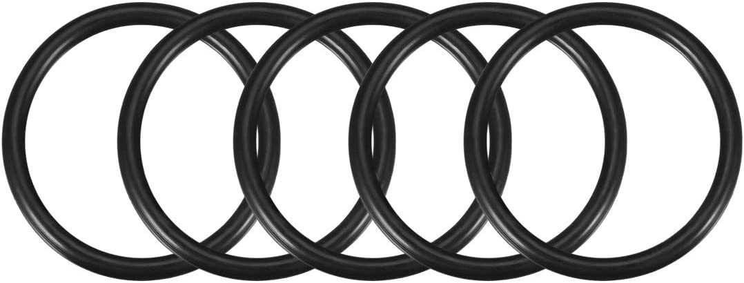 uxcell O-Rings Nitrile Rubber 4mm Width,Round Seal Gasket Pack of 5 67mm Inner Diameter 75mm OD