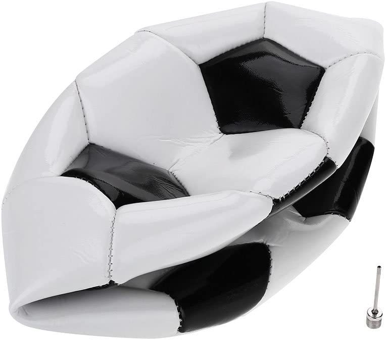 VGEBY1 Training Soccer Ball Size 4 Classic Black White Style School Practicing Football Sports Equipment