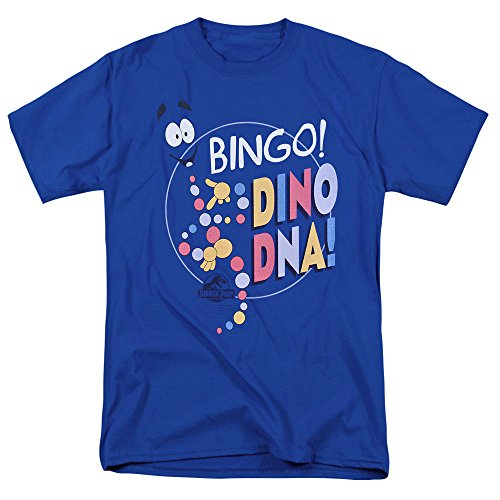 Jurassic Park Mr. DNA T Shirt & Exclusive Stickers (Medium)