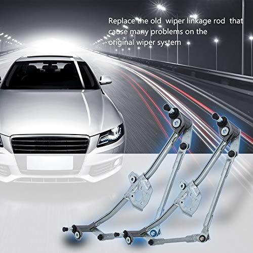 RoadRomao Reemplazo del Parabrisas limpiaparabrisas Vinculación Wipe Rack Front Varilla 8E1955603D para Audi: Amazon.es: Hogar