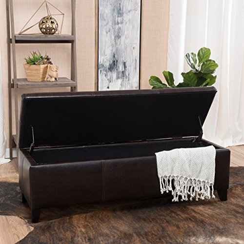Oliver And Smith Cloth Storage Ottoman With 3 Ottomans