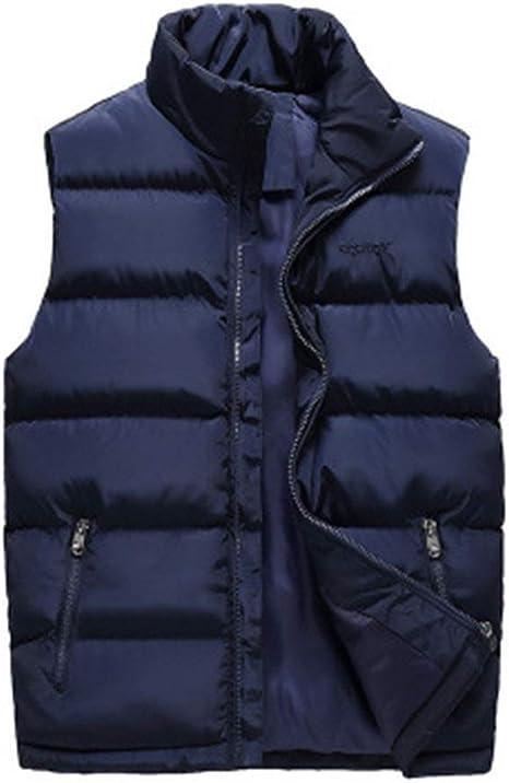 SKYROPNG Gilet di Piumino Donne,Giacca A Vento Casual Giacche,Donna Uomo Autunno Inverno Addensare Cappotti Giubbotto Calde Giacche Abbigliamento Esterno Maschio Vestiti Blu