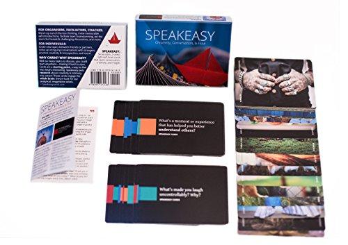 Speakeasy Cards: Conversation, Creativity, & -