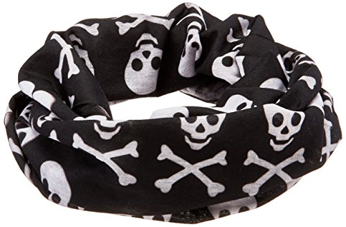 - Zanheadgear Motley Tube, 100% Polyester, Skull and Crossbones