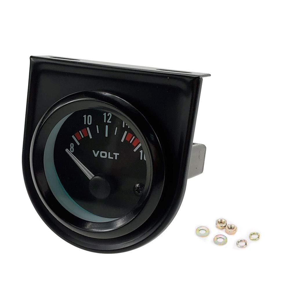 SINOVCLE Car Gauge 2 Tachometer Meter LED Digital Display, Black Bezel
