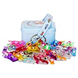 quilt clips - Quilting Clips And Wonder Clips,Sewing Clips Pack of 100,80 Samll +20 Middle Quilt Clips Perfect For Sew binding,Crafts,Paper Work And hanging Little Things Etc