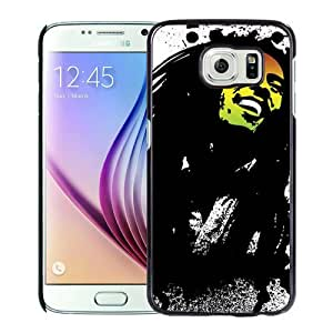 Fashionable Samsung Galaxy S6 Case ,Unique And Popular Designed Case With Bob Marley 1 Black Samsung Galaxy S6 Great Quality Screen Case