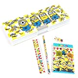 Pen pencil minion, Minion's anime double stationery set (G)