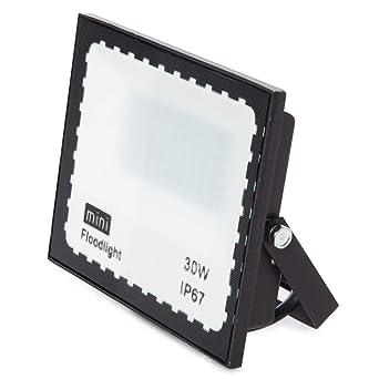 Greenice | Foco Proyector LED SMD Mini 30W 90LM/W | Blanco Frío ...