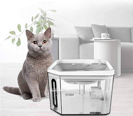 XBTECH Fuentes para Beber para Mascotas Fuente para Gatos Filtro ...
