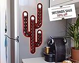 nespresso cabinet - SECONDS SALE | Red Cactus Nespresso Capsule Holder Coffee Pod Holder