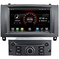 Autosion - Reproductor de DVD para coche Android 10 con GPS estéreo, radio Navi Multimedia Wifi para Ford Peugeot 407…