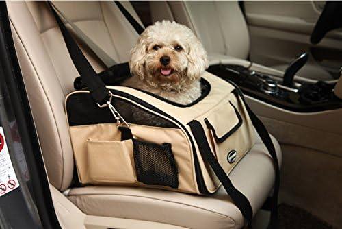 Plegable Portador de viaje del Asiento de coche para Mascotas ...