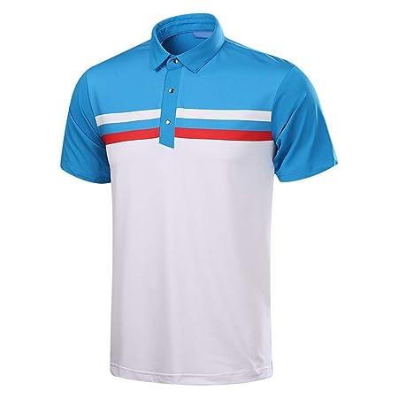 Goodvk Polos para Hombre Camiseta de Manga Corta de Golf para ...