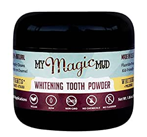 My Magic Mud Whitening Tooth Powder - 1.06 oz (30 grams)