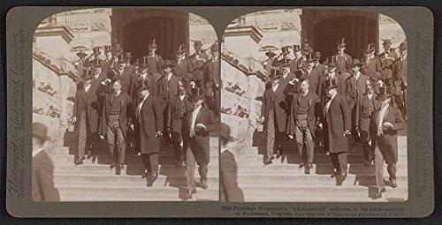Party Supplies Richmond Va (Photo: Reproduction,Presient Theodore Roosevelt,Richmond,Virginia,VA,c1905,Arrival)