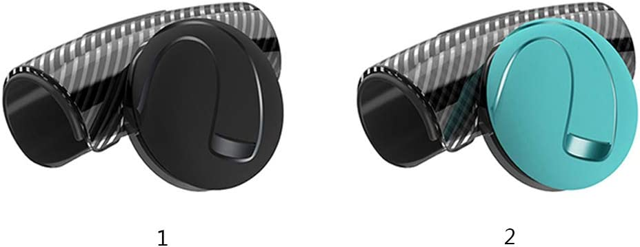Knauf Spinner Universal Fahrzeug Power Griffe Booster Happyshop 360 /° drehbarer Lenkradverst/ärker