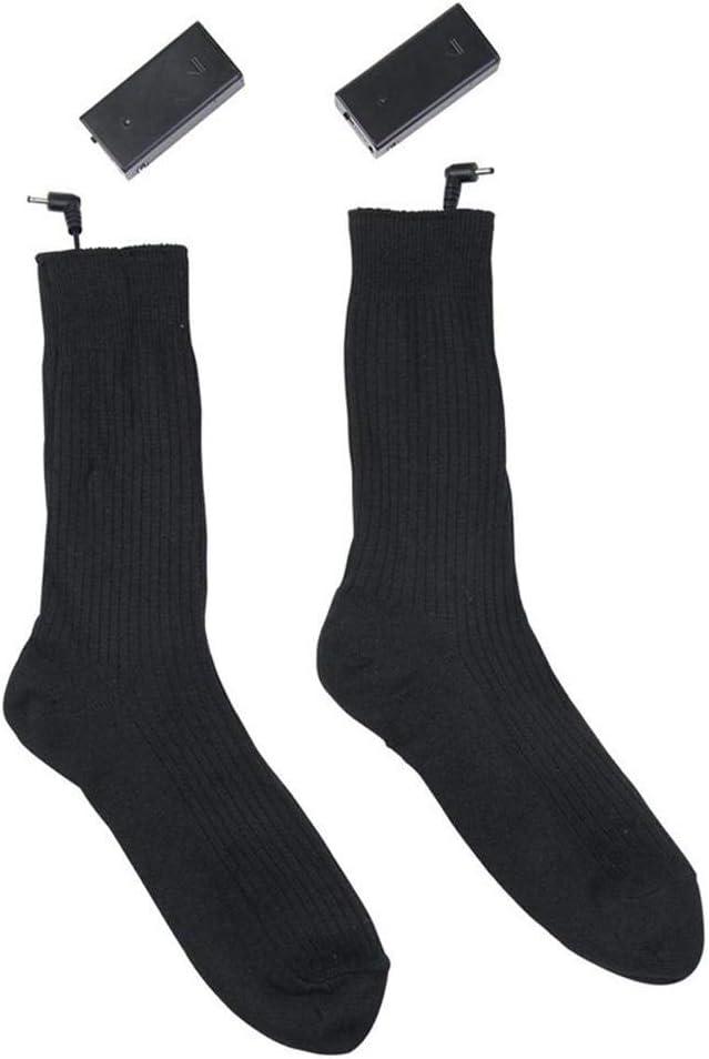 Taille Libre Hiver Chaud Coton Pied R/échauffeur de Pied pour Hommes Femmes Chasse Ext/érieure Ski P/êche de Cyclisme Chaussette Thermique Unisexe MOGOI Chaussettes Chauffantes /électriques