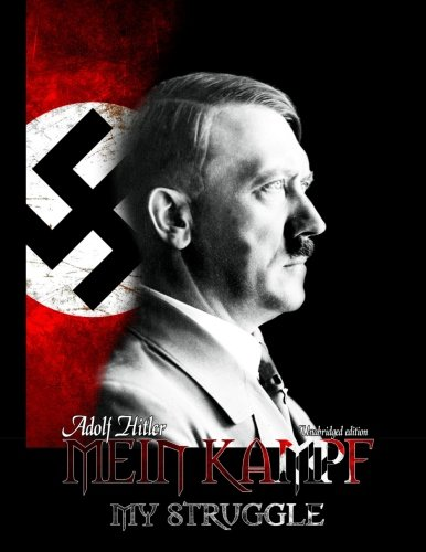 Book cover from Mein Kampf: My Struggleby Adolf Hitler