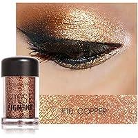 Expxon focallure 12 Colores Sombra de Ojos Maquillaje oearl metálico Sombra de Ojos Paleta